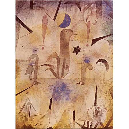Paul Klee Gemileri Beklerken