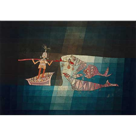Paul Klee Operadan Dövüş Sahnesi