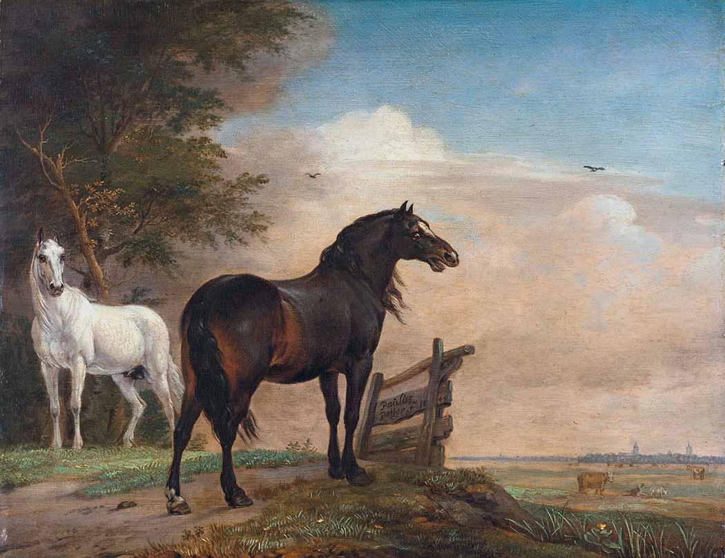 Paulus Potter Çayırda Atlar