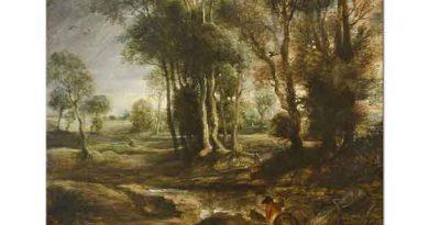Peter Paul Rubens Ağaçlı Manzara