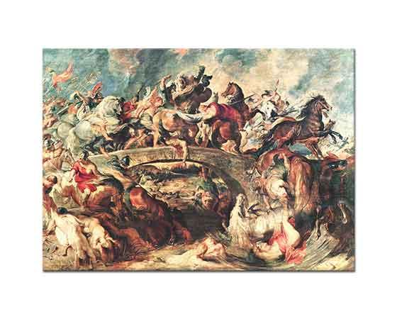 Peter Paul Rubens Amazonların Savaşı