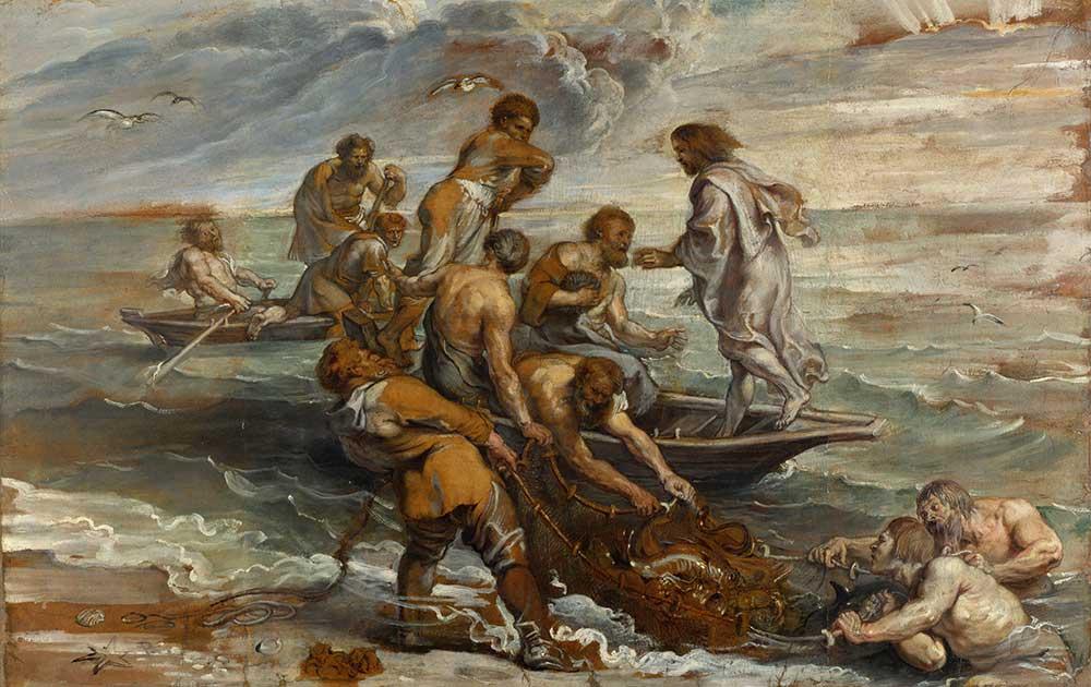 Peter Paul Rubens Balıkların Gelmesi Mucizesi