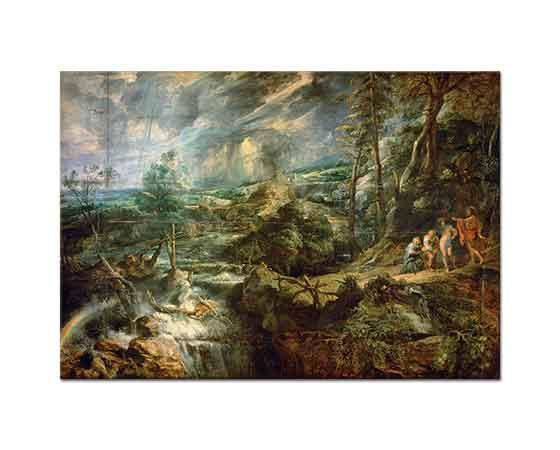 Peter Paul Rubens Baucis ve Philemon