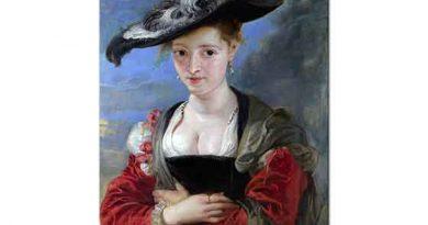 Peter Paul Rubens Bir Kadın Portresi