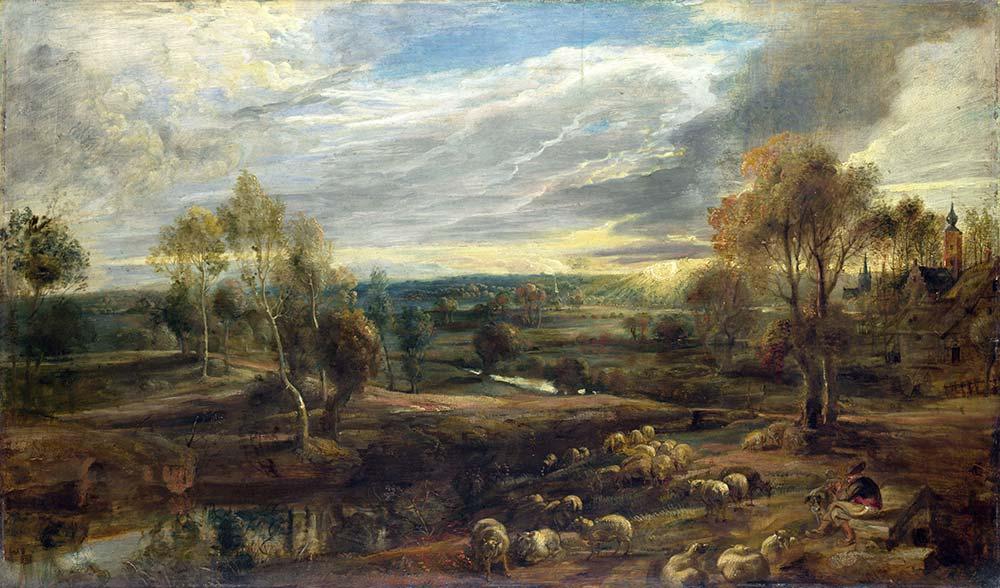 Peter Paul Rubens Çoban ve Manzara