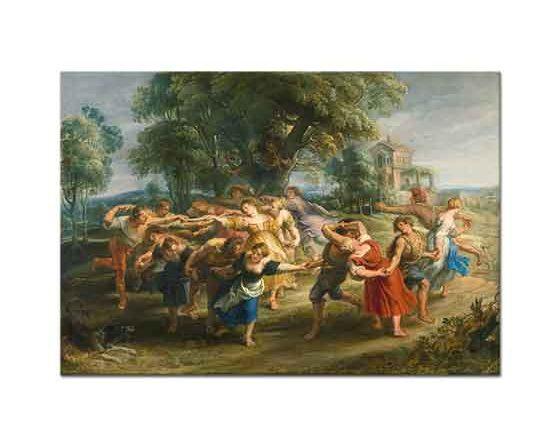 Peter Paul Rubens Köylülerin Dansı