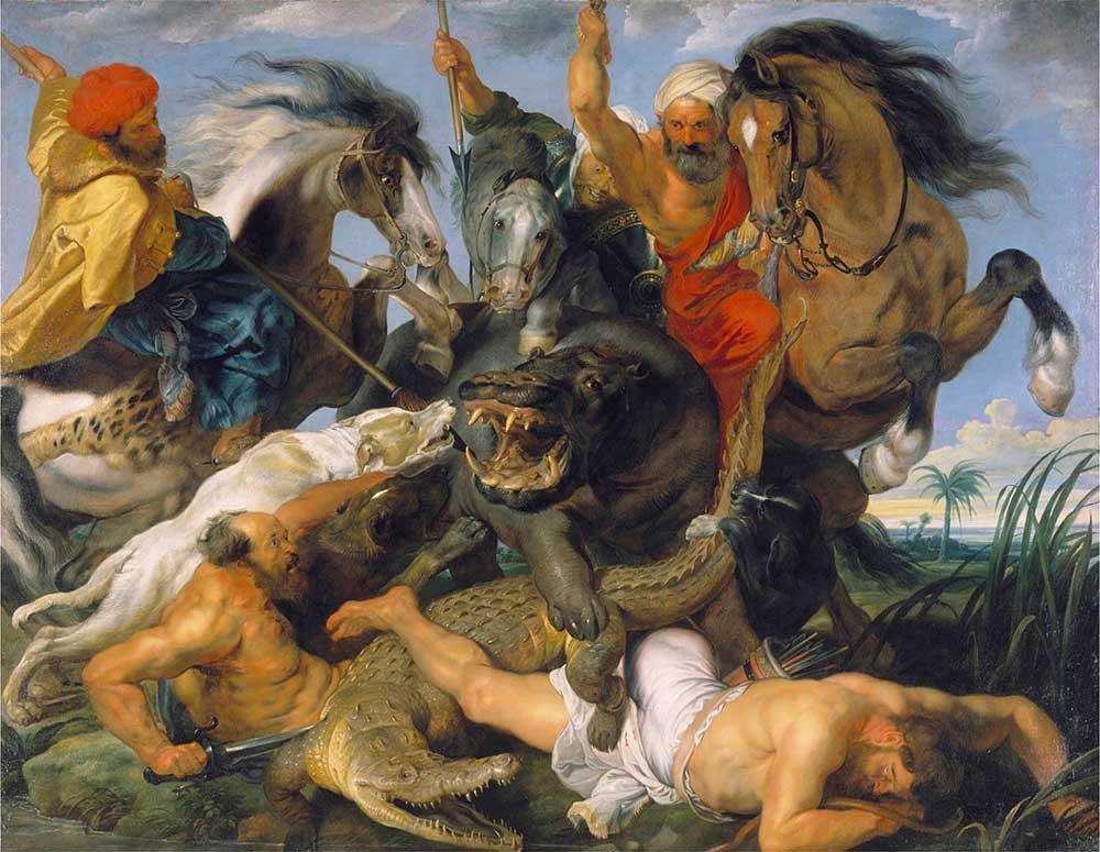 Peter Paul Rubens Nil Atı Avı