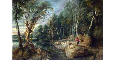 Peter Paul Rubens Ormanda Çoban ve Sürüsü