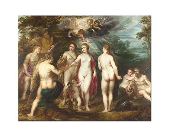 Peter Paul Rubens Paris'in Yargılanışı