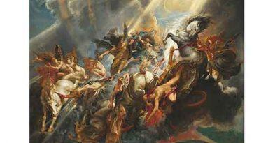 Peter Paul Rubens Phaeton'un Düşüşü