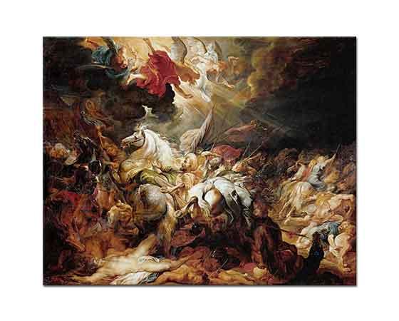 Peter Paul Rubens Sanherib'in işgali
