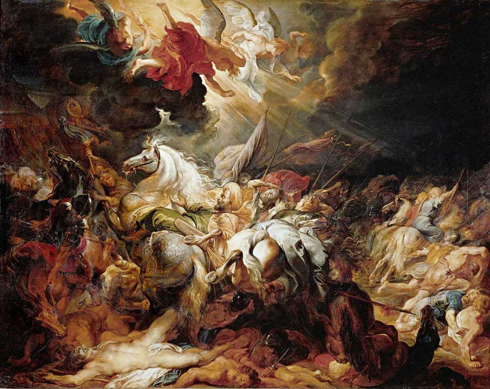Peter Paul Rubens Sanherib'in işgali