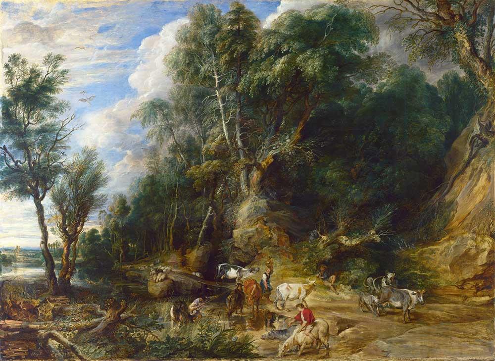 Peter Paul Rubens Su Kenarında