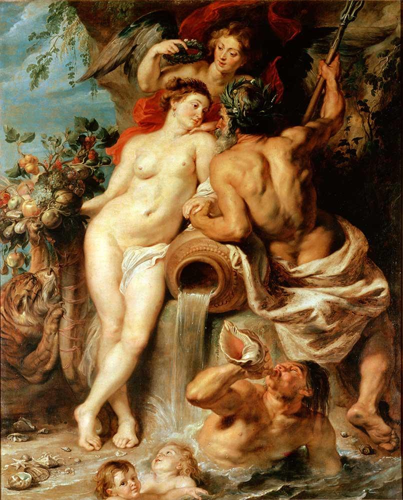 Peter Paul Rubens Su ve Toprağın Birliği