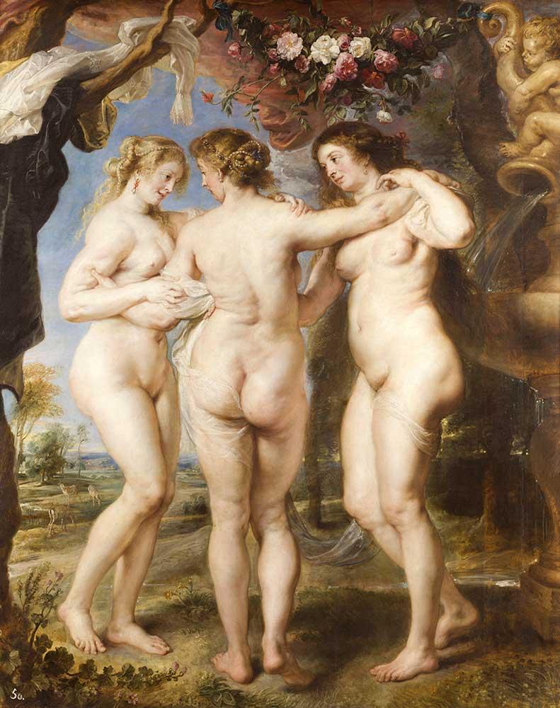 Peter Paul Rubens üç güzeller