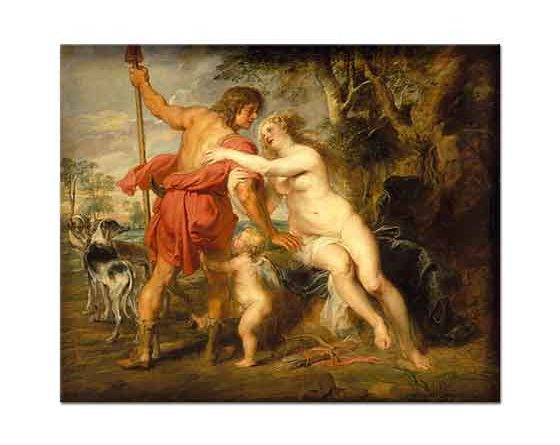 Peter Paul Rubens Venüs ve Adonis