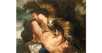 Peter Paul Rubens Zincirli Prometheus