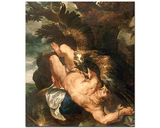 Peter Paul Rubens Zincirli Prometheus