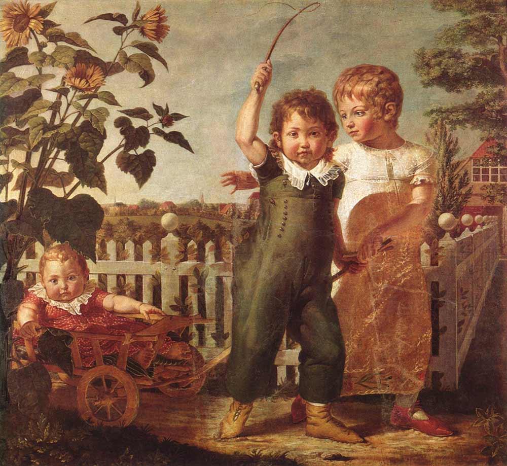 Philipp Otto Runge Oyun Oynayan Çocuklar