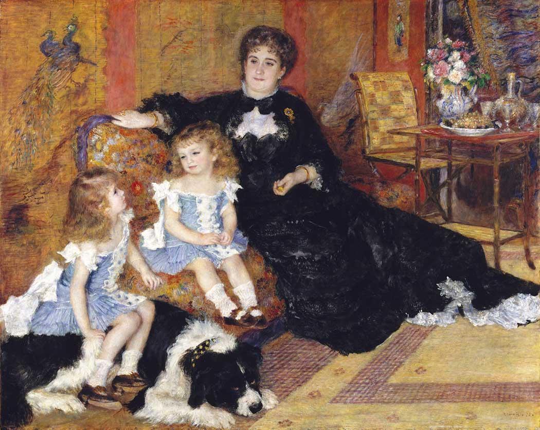 Pierre Auguste Renoir Anne ve Kızları