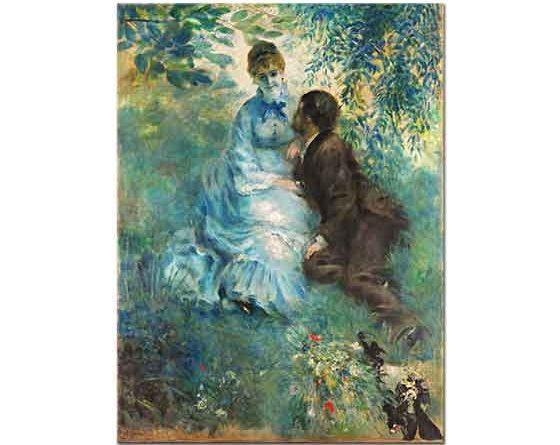 Pierre Auguste Renoir Aşıklar