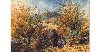 Pierre Auguste Renoir Bahar Manzarası