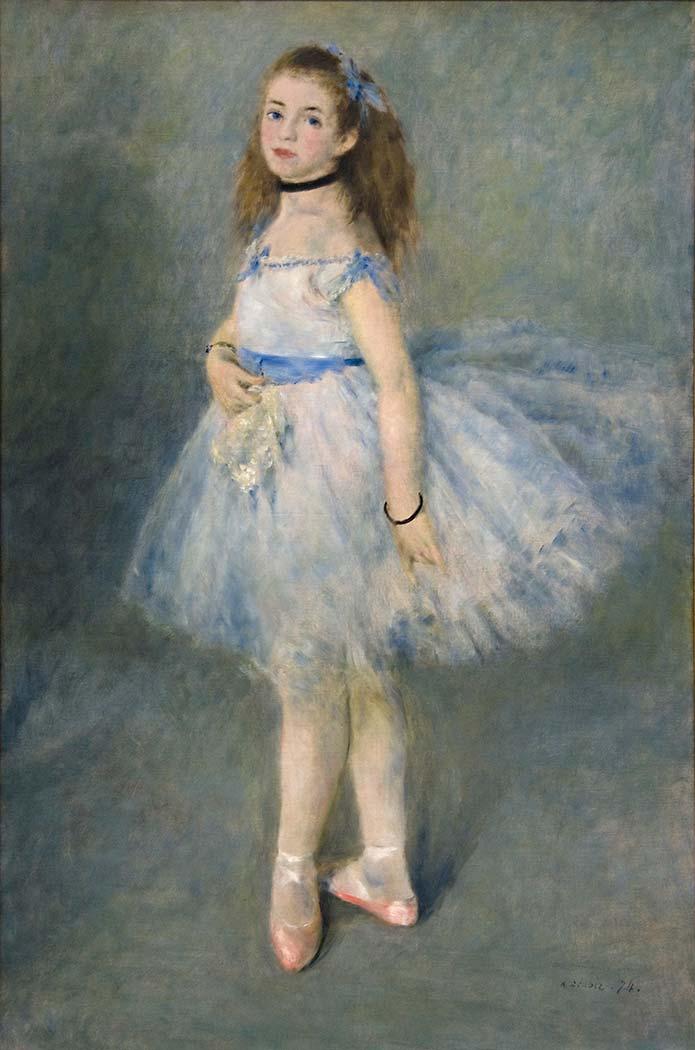Pierre Auguste Renoir Balerin