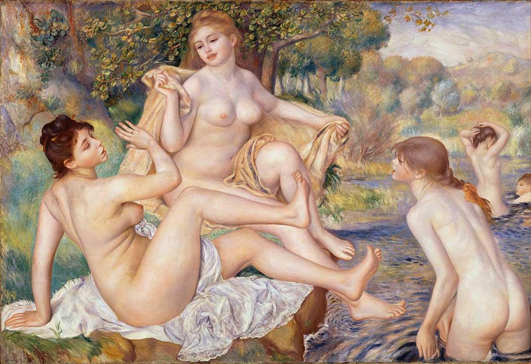 Pierre Auguste Renoir Giyinen Nü