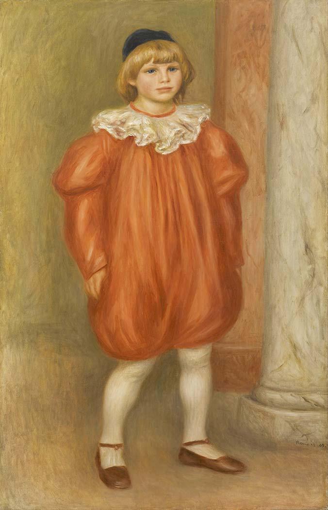 Pierre Auguste Renoir Başlıklı Kız