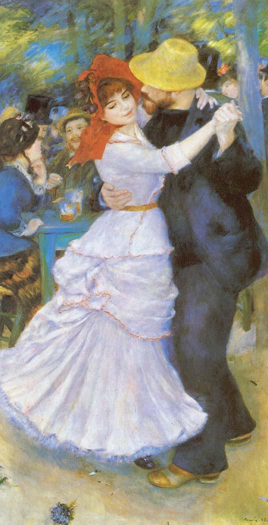 Pierre Auguste Renoir Bougival'da Dans