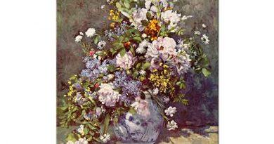 Pierre Auguste Renoir Büyük Vazoda Çiçekler