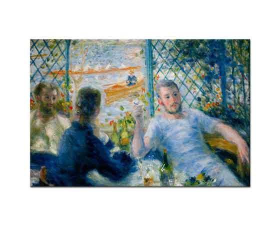 Pierre Auguste Renoir Cafede Sohbet