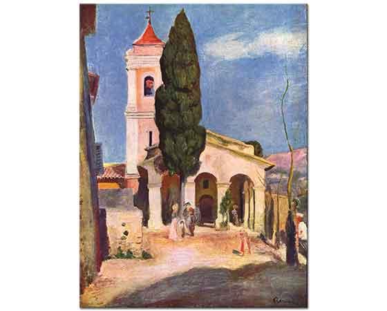 Pierre Auguste Renoir Cagnes Kilisesi