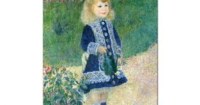 Pierre Auguste Renoir Çiçek Sulayan Kız