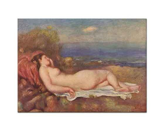 Pierre Auguste Renoir Deniz Kenarında Uyku
