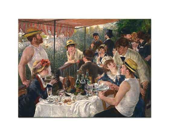 Pierre Auguste Renoir Denizcilerin Kahvaltısı