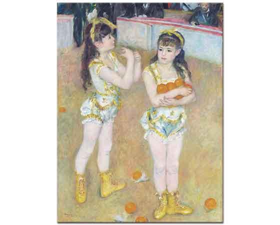 Pierre Auguste Renoir iki Küçük Sirk Kızı