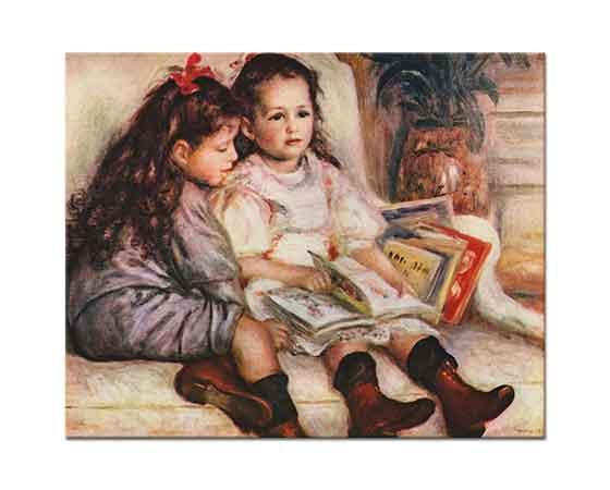 Pierre Auguste Renoir Jean ve Genevieve Caillebotte