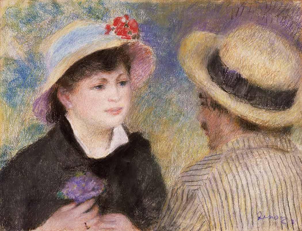 Pierre Auguste Renoir Karşılaşma