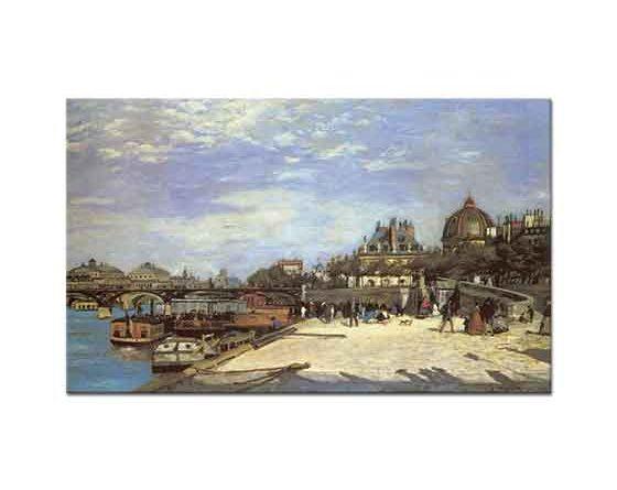 Pierre Auguste Renoir Köprüden Geçiş