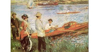 Pierre Auguste Renoir Kürekçiler