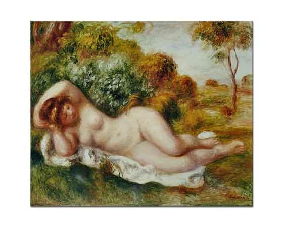 Pierre Auguste Renoir La Boulangere