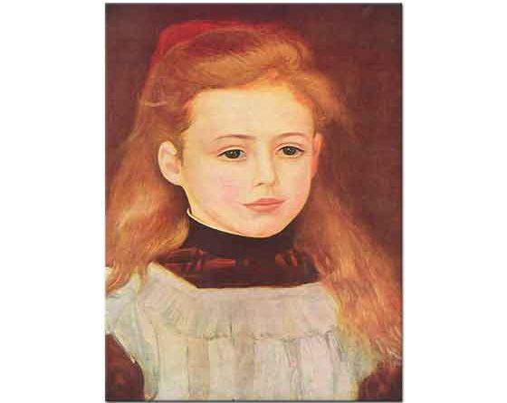 Pierre Auguste Renoir Lucie Berard