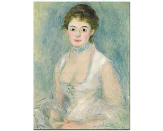 Pierre Auguste Renoir Madam Henriot