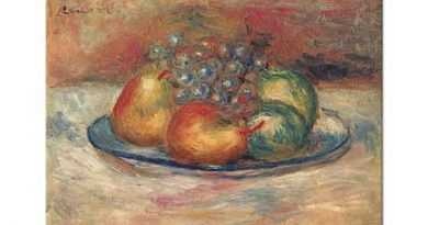 Pierre Auguste Renoir Natürmort