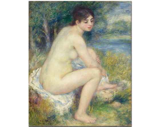 Pierre Auguste Renoir Nehir kenarında Nü
