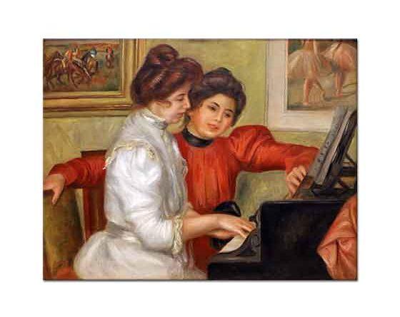 Pierre Auguste Renoir Piyano Başında