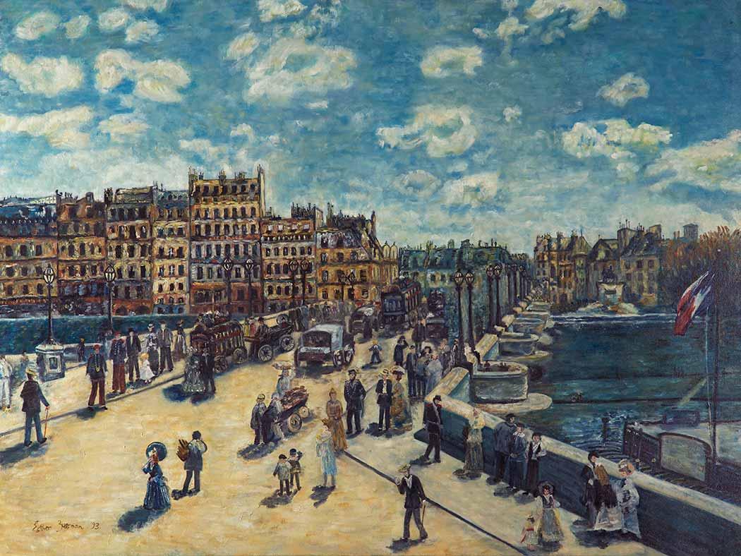 Pierre Auguste Renoir Pont Neuf