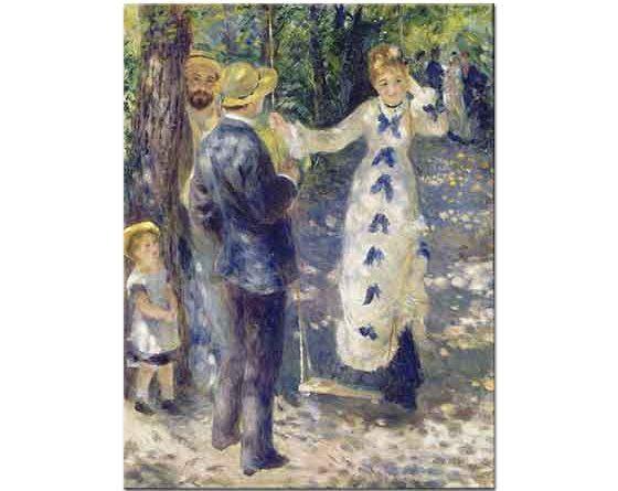 Pierre Auguste Renoir Salıncakta