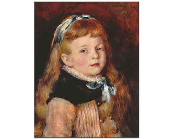 Pierre Auguste Renoir Saten Bantlı Kız